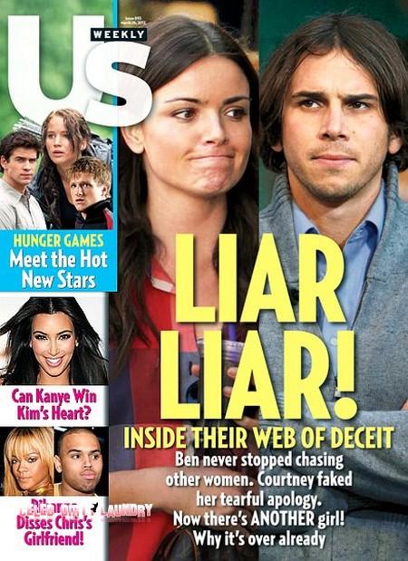 Inside The Bachelor's Ben Flajnik and Courtney Robertson's Web Of Deceit (Photo)