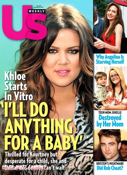 Khloe Kardashian Is Desperate For a Baby As She Starts In Vitro (Photo)