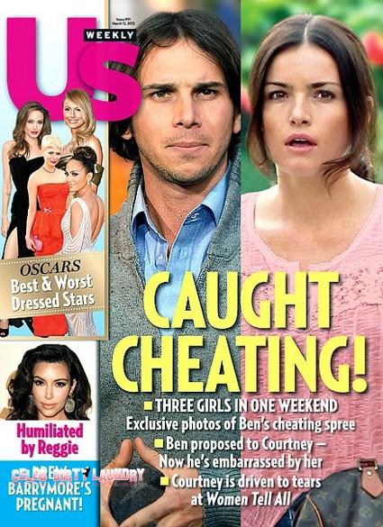 The Bachelor Ben Flajnik Caught Cheating (Photo)