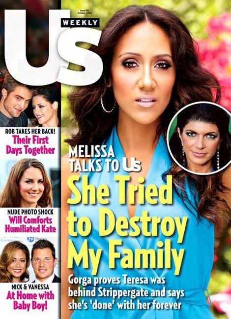 RHONJ's Melissa Gorga Claims Teresa Giudice Tried To Destroy Her Family