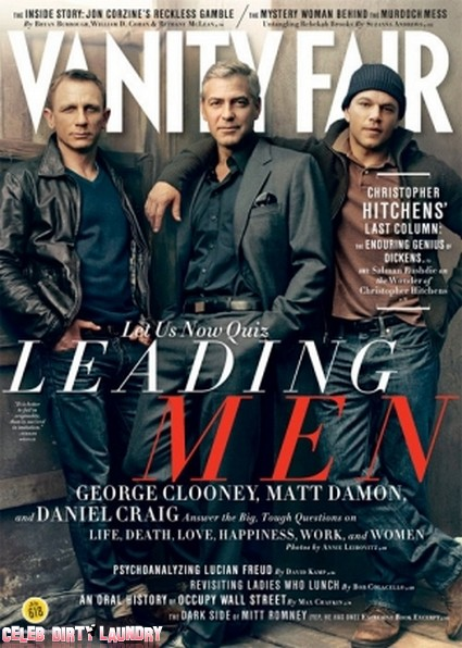 Vanity Fair Has The Hottest Actors In Hollywood Covered