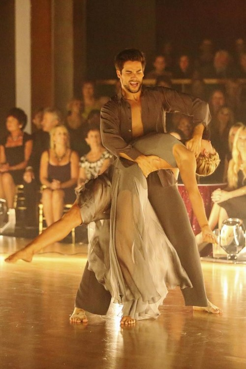 Brant Daugherty Dancing With the Stars Tango Video 10/21/13