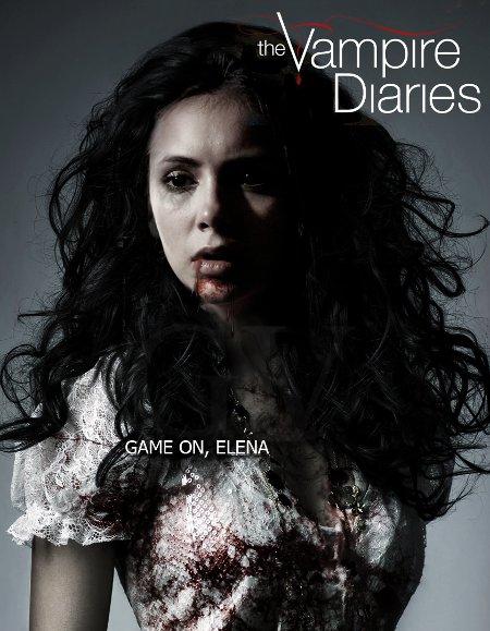 'Vampire Diaries' Season 4 Spoiler: Elena Tries Out Her New Vamp Fangs!