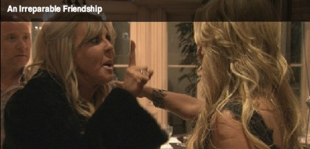 RHOC Catfight: Vicki Gunvalson Battles With Tamra Barney (Video)