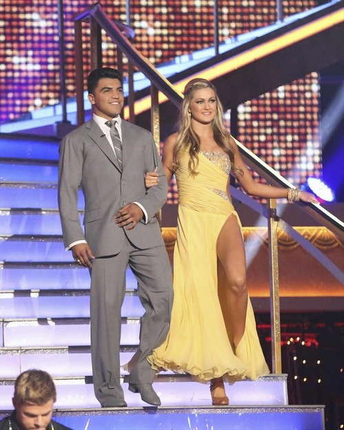 Victor Ortiz Dancing With the Stars Jive Video 3/25/13
