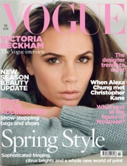 Victoria Beckham Talks About Waking Up Next To David In Vogue UK