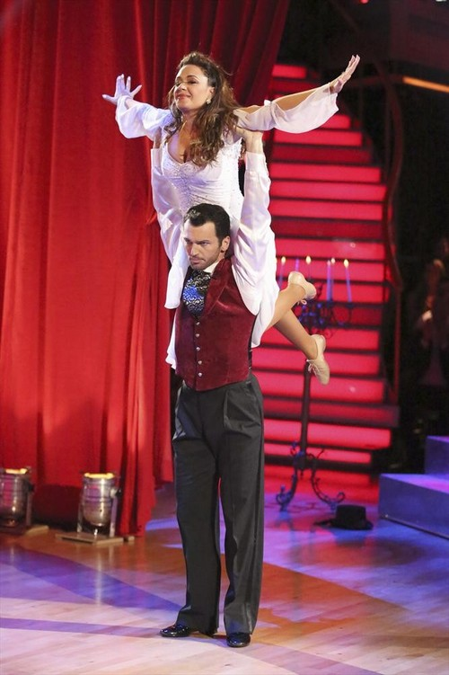 Leah Remini Dancing With the Stars Quickstep Video 10/21/13