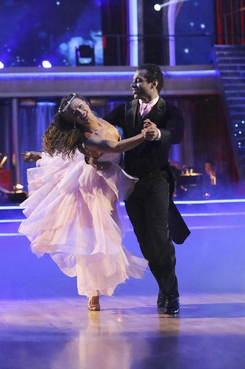 Corbin Bleu Dancing With the Stars Viennese Waltz Video 10/21/13