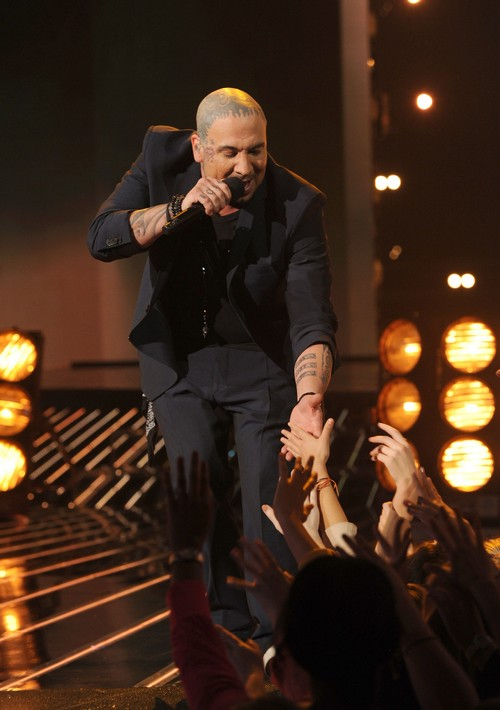 Vino Alan Eliminated From The X Factor 11/29/12 (Video)