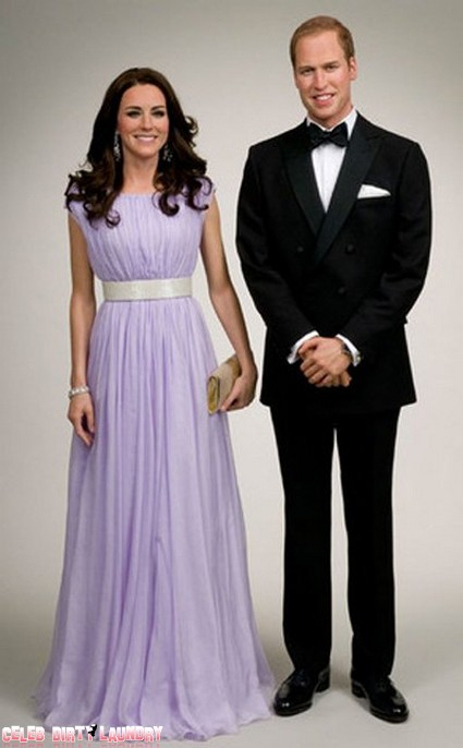Kate Middleton And Prince William - The Wales In Wax (Photo)
