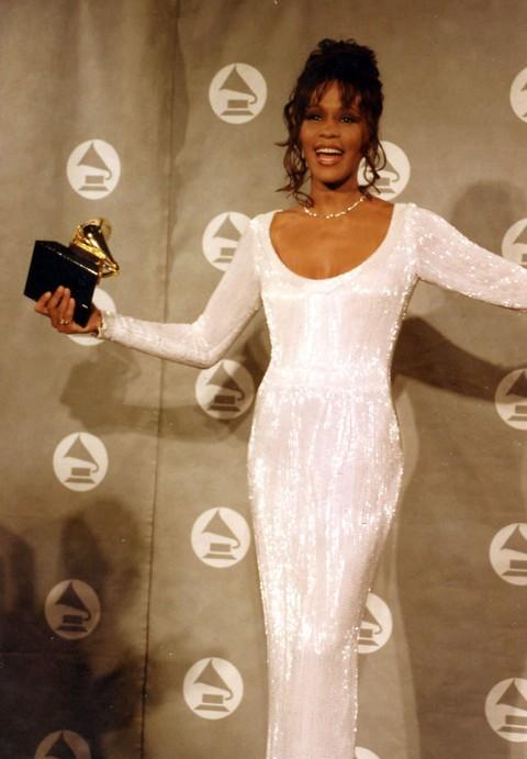 Whitney Houston's Greedy Famewhore Siste-In-Law, Pat Houston, Show's Grammy Disrespect