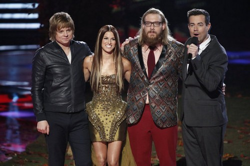 Who Won THE VOICE Tonight 12/18/12?
