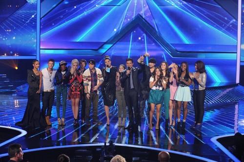 """The X Factor Season 2 """"Top Eight Perform"""" Recap 11/28/12"""