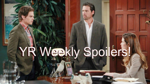 'The Young and The Restless' Spoilers: Week of June 27 – Victor Shocks the Court – Devon and Jack Face Off Over Hilary