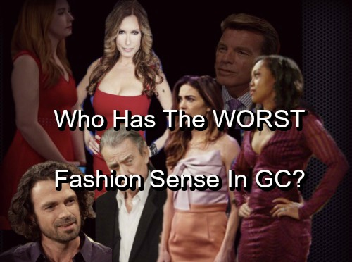 The Young and the Restless Spoilers: Who Has The Worst Fashion Sense in Genoa City? - Characters Called Out By Name