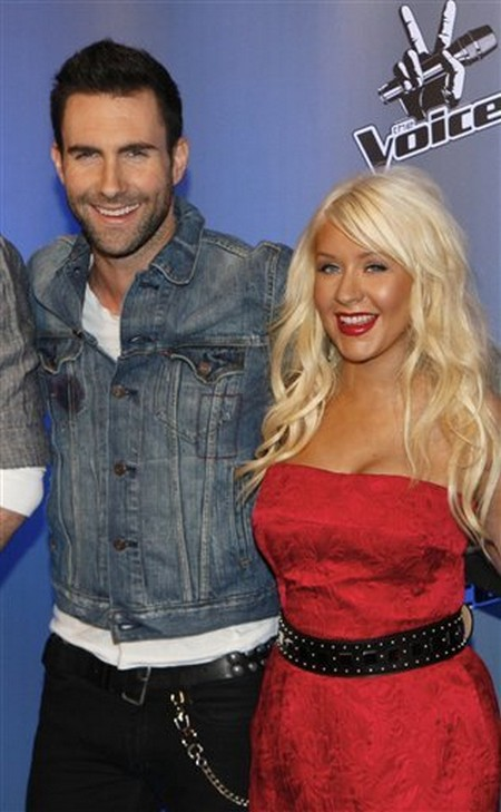 Ugly Fight Escalates Between Christina Aguilera And Adam Levine On The Voice