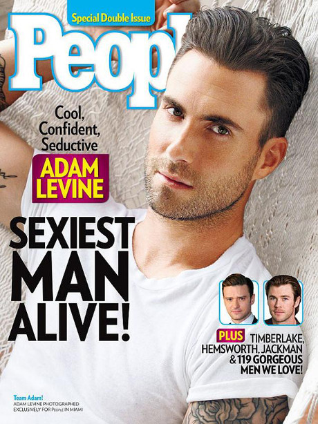 Adam Levine Sexiest Man Alive is Having Girl Trouble: Fiance Behati Prinsloo & Ex Anne V Swapping Sex Stories!