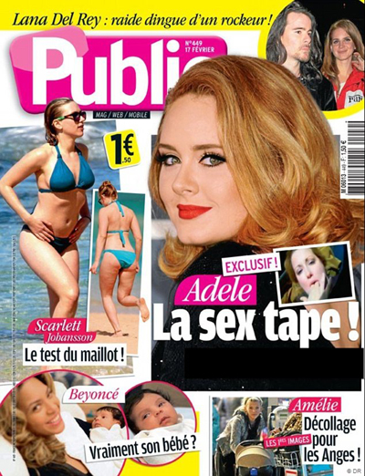 Did Adele Make A Sex Tape? The Singer Is Planning A Lawsuit Against A French Magazine
