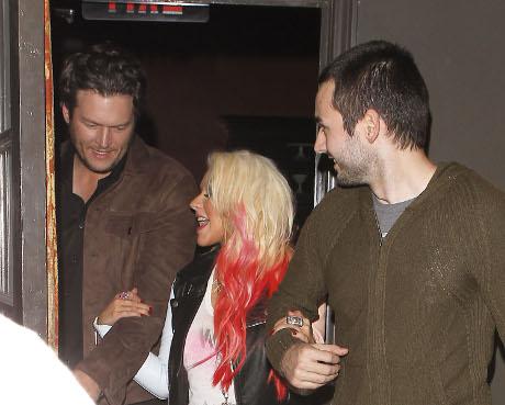 "Did ""The Voice"" Judge Christina Aguilera Hit On Vanessa Hudgens?"