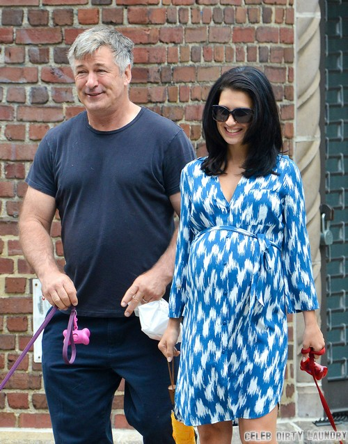 Alec Baldwin's Sympathy Pregnancy For Hilaria Thomas - See The Expectant Father's Tummy and Boobs On Display (PHOTOS)