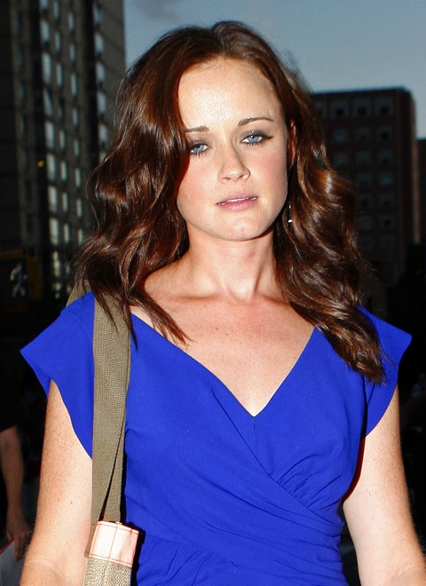 Alexis Bledel Takes A Stroll To The Fashion Show