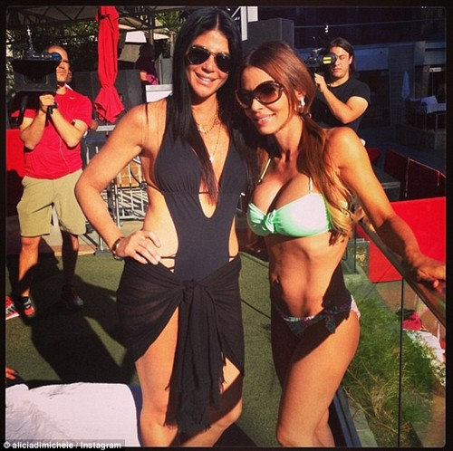 """Mob Wives' Alicia DiMichele Is NO Victim - She Cheated With Rob LaScala On Husband Eddie """"Tall Guy"""" Garafalo - CDL Exclusive"""