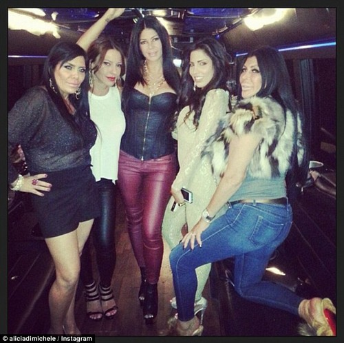 """Mob Wives Star Alicia DiMichele Caught Cheating On Jailed Hubby, Edward """"Tall Guy"""" Garofolo"""