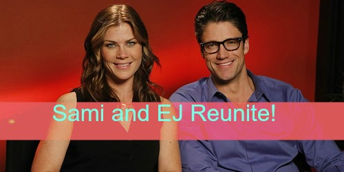 Days of Our Lives (DOOL) Spoilers: Sami and EJ Reunite! Alison Sweeney and James Scott Reprise Roles For Special Fan