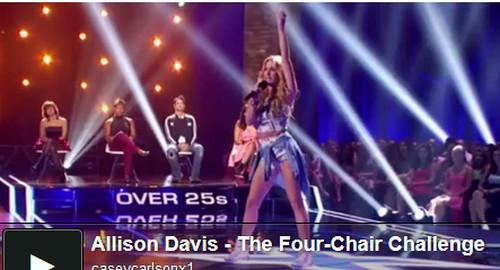"Allison Davis The X Factor ""Tik Tok"" Video 10/3/13 - Worst Performance Ever!!"