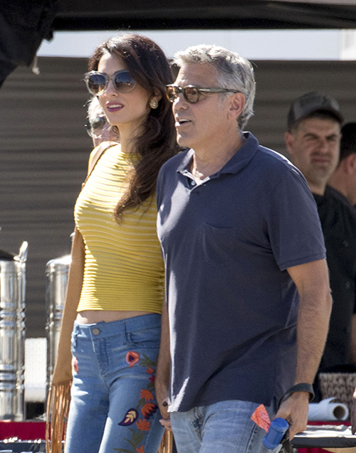 George Clooney Embarrassed By Amal Alamuddin's Tacky  Wardrobe, In Desperate Need Of Fashion Counseling?