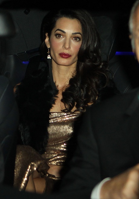 Amal Alamuddin Anorexic - George Clooney's Wife Overwhelmed By Celebrity Status, Starving Herself?