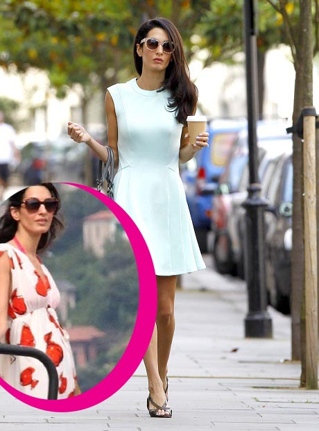Amal Alamuddin Pregnant - George Clooney's Reason For Such A Hasty Proposal! (PHOTO)
