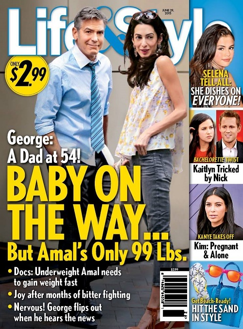 Wife amal alamuddin pregnant with baby number one george and amal