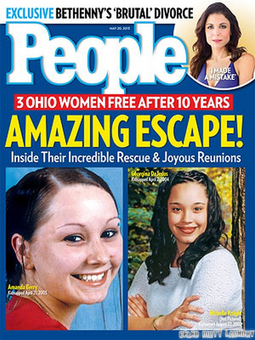 Amanda Berry & Gina DeJesus Cover People Magazine (Photo)