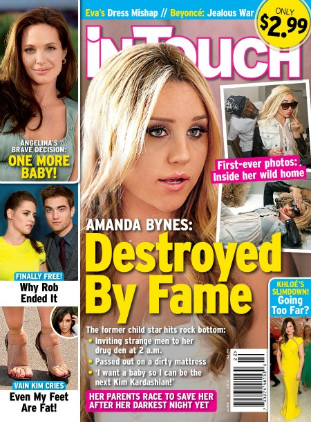 Amanda Bynes Hits Rock Bottom - Destroyed By Fame (Photo)