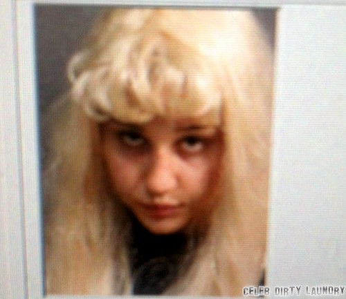 Amanda Bynes' Mugshot Photo