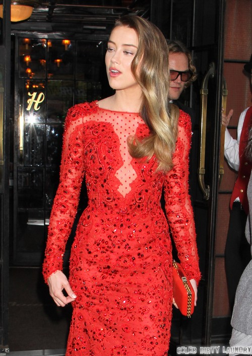 Amber Heard Pretends Dating Johnny Depp Doesn't Influence Her Career - Hypocrite or Career-Whore?