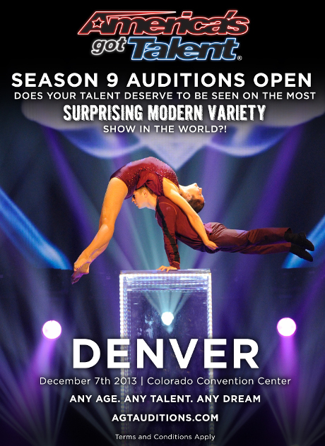 America's Got Talent Season 9 Auditions Denver - Are You the next BIG Talent?