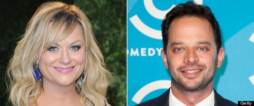 Amy Poehler Dating Nick Kroll - Couple Caught In Heavy PDA