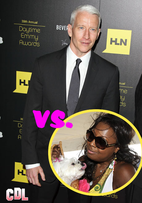 Celebrity Feud: Anderson Cooper and Star Jones Bash Each other with Low Blows