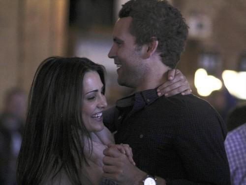 The Bachelorette 2014 Andi Dorfman, Josh Murray Postpone TV Wedding - Argue Over Nick Viall Hook-Up and Pregnancy?