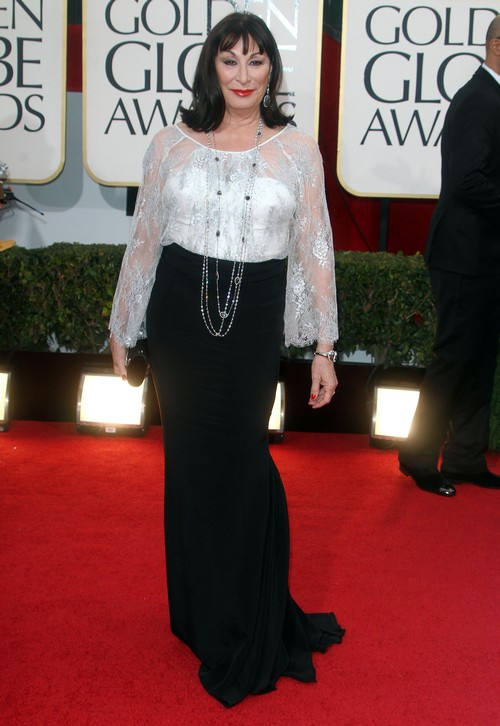 Anjelica Huston Dying to Be Cast On Downton Abbey - Possible Season 5 Role?