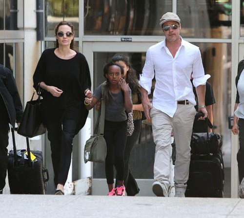 Angelina Jolie Gets Violent With Brad Pitt Behind Closed Doors - Report
