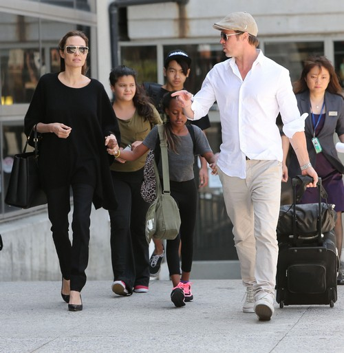 Angelina Jolie Sex Tape Scandal - Brad Pitt Breaking Up With Baby Mama?