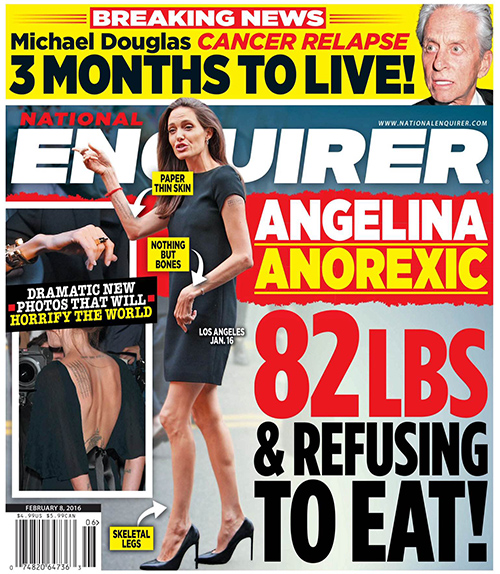 Angelina Jolie Anorexia Crisis: Refuses to Eat – Frustrated Brad Pitt Threatens Divorce?