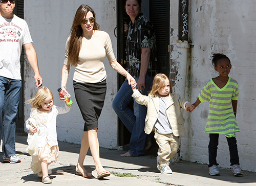Angelina Jolie Spotted For First Time After Filing Brad Pitt Divorce: Actress Starves Herself For Pity?
