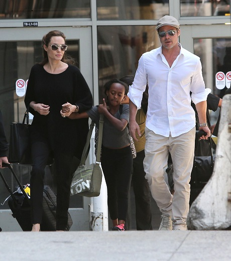 Angelina Jolie Bans Brad Pitt From Hanging Out With Quentin Tarantino And Uma Thurman!
