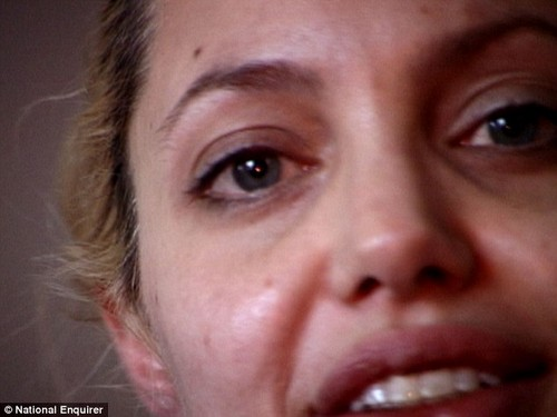 Angelina Jolie Drug Video Released - See Angie Strung Out, Filthy and Crazed