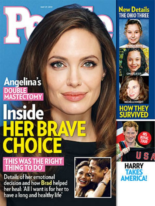 Angelina Jolie's Brave Decision & Her Next Surgery (Photo)