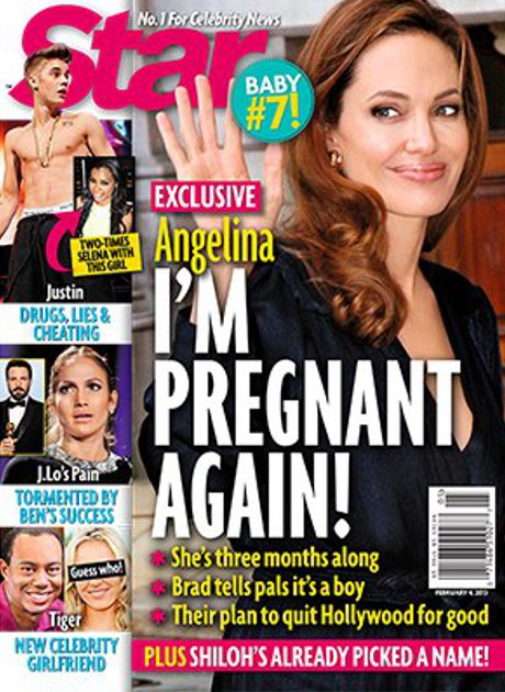 Angelina Jolie Pregnant: Brad Pitt Says it's a Boy, Plus Their Plans to Quit Hollywood for Good!